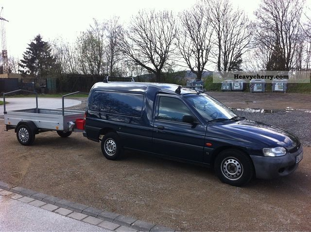 1999 Ford  Escort Express TD WITH TRAILER Van or truck up to 7.5t Box-type delivery van photo