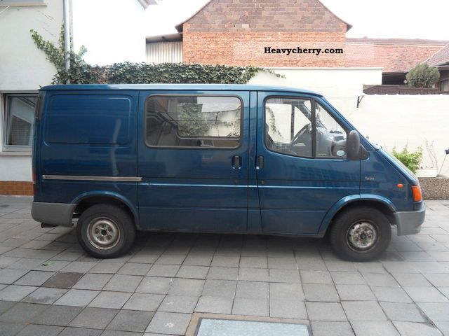 ford transit turbo 1995 box type delivery van photo and specs. Black Bedroom Furniture Sets. Home Design Ideas