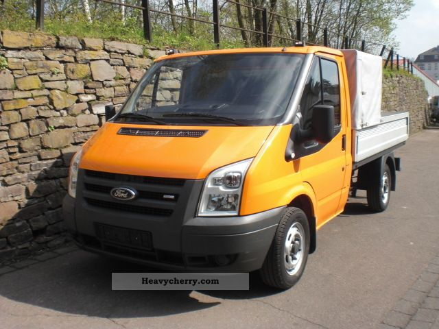 2008 Ford  Transit FT 300 EC flatbed only 34 000 KM Van or truck up to 7.5t Stake body photo