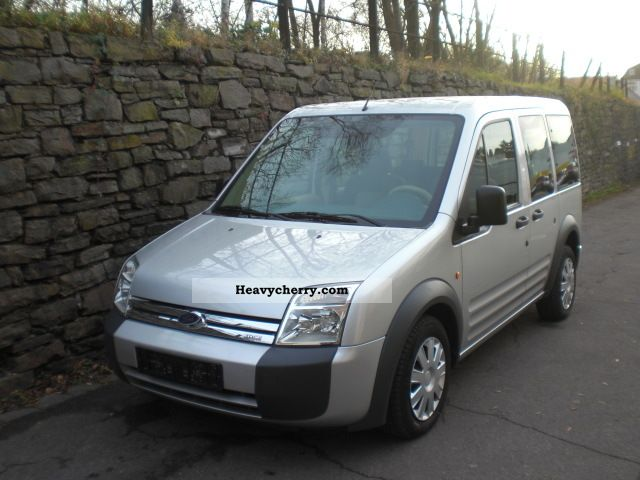 2007 Ford  Tourneo Connect GLX air conditioner 2x sliding Van or truck up to 7.5t Estate - minibus up to 9 seats photo