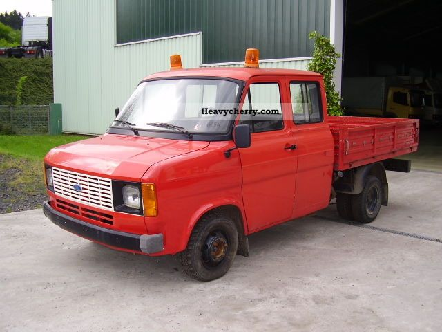 1981 Ford  TRANSIT 37.000KM Van or truck up to 7.5t Stake body photo