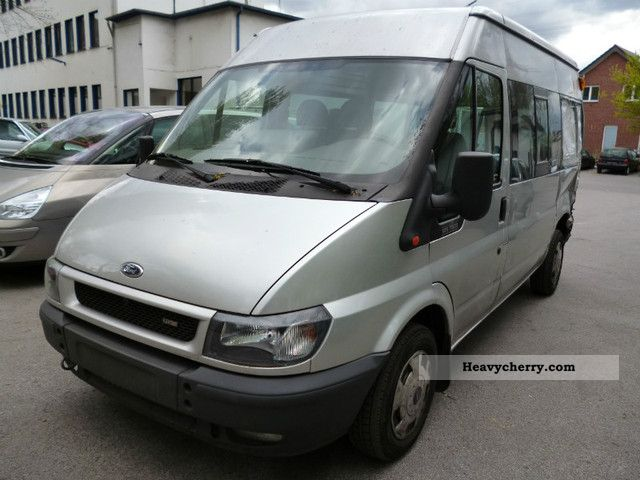 2003 Ford  TRANSIT 125 T 300/HOCH LONG / AIR CONDITIONING / HEATING SEAT ... Van or truck up to 7.5t Estate - minibus up to 9 seats photo