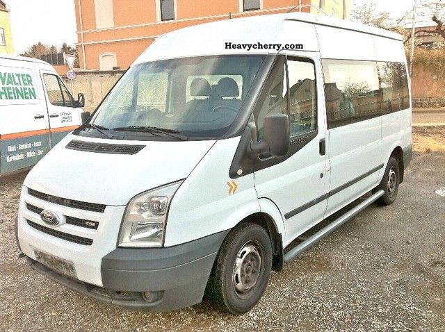 2008 Ford  transit Van or truck up to 7.5t Estate - minibus up to 9 seats photo