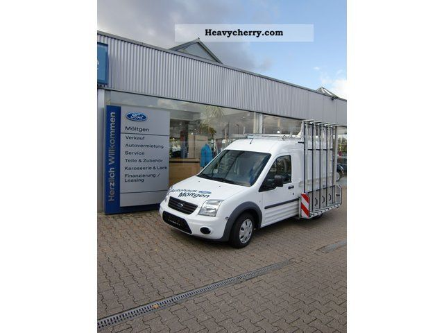 2011 Ford  Transit Connect with glass top Van or truck up to 7.5t Glass transport superstructure photo