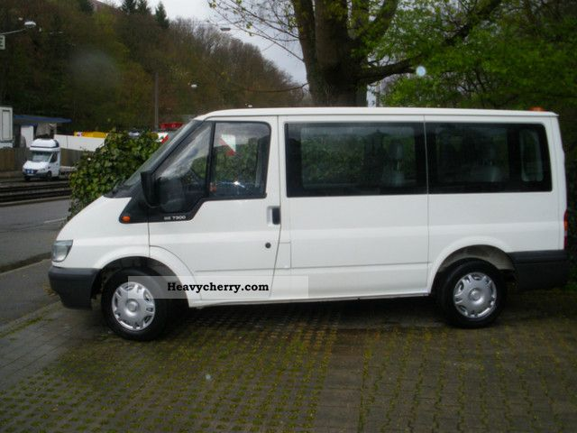 Ford Transit 9sitze 1 Hand Grosser New Service 2003 Estate