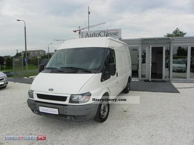 2005 Ford  Transit Van or truck up to 7.5t Other vans/trucks up to 7 photo