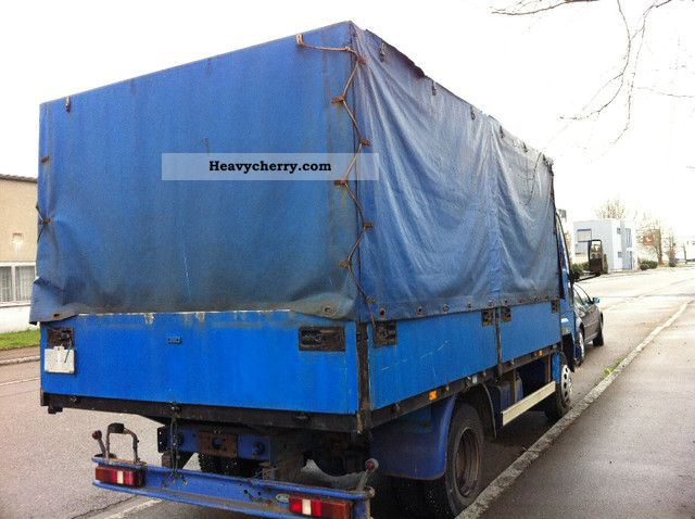 Ford Cargo 0813 1988 Stake Body And Tarpaulin Truck Photo