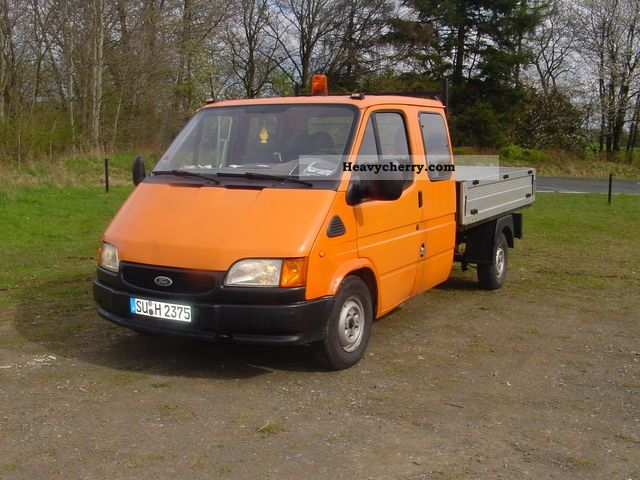 1998 Ford  Transit Van or truck up to 7.5t Stake body photo
