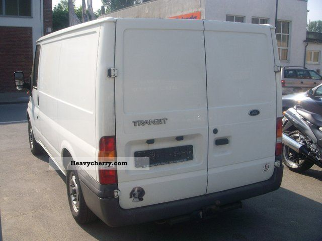 Ford transit ft 260 s 1 hand 2001 box type delivery van photo and specs