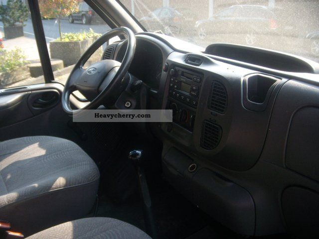 Ford Transit FT 260 S 1.Hand 2001 Box-type delivery van ...