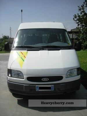 ford transit 1995 coaches photo and specs. Black Bedroom Furniture Sets. Home Design Ideas