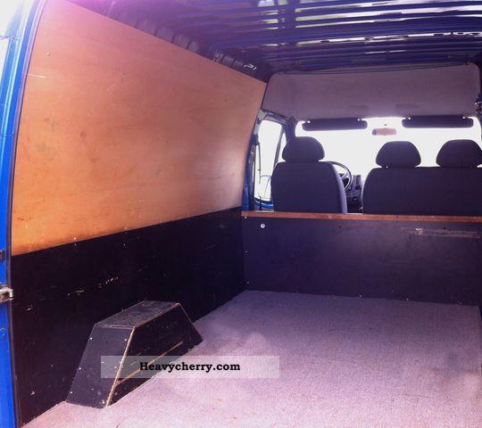 2007 Ford Transit Van 2 5 Tdci Diesel Lwb Semi High Roof