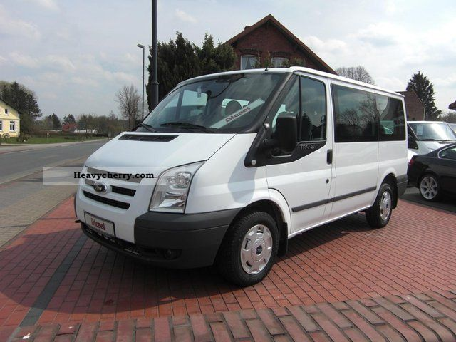 ford transit 2 2 tdci 9 seats double doors 2009. Black Bedroom Furniture Sets. Home Design Ideas