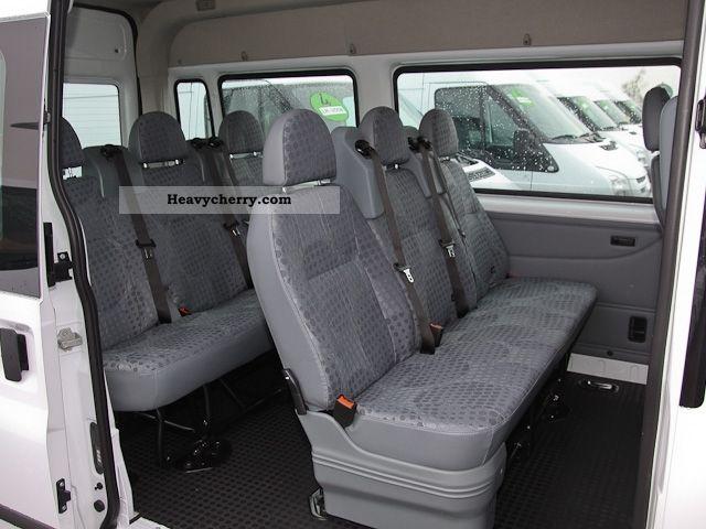Ford Transit 9 Seater Combi Ft280m 2012 Estate Minibus