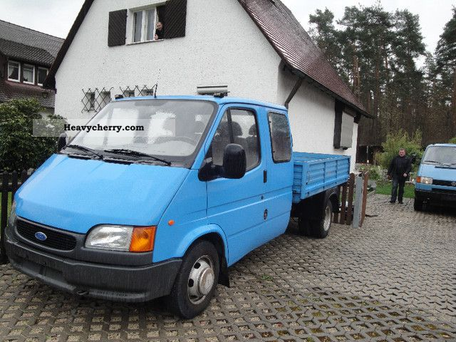 1996 Ford  transit Van or truck up to 7.5t Stake body photo