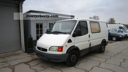 1997 Ford  Transit Van or truck up to 7.5t Box-type delivery van photo