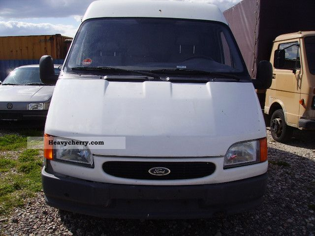 1999 Ford  transit Van or truck up to 7.5t Box-type delivery van - high and long photo