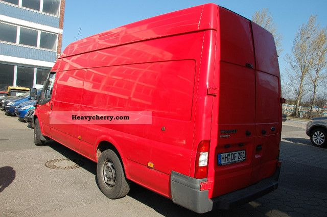 ford transit ft 300 l fresh food freezer box 2006 refrigerator box truck photo and specs. Black Bedroom Furniture Sets. Home Design Ideas