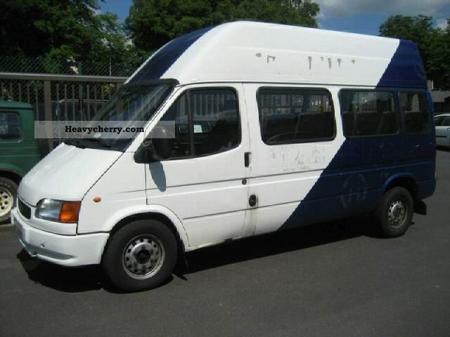 2000 Ford  Transit 9 seats 7 seats minibus long-standing Coach Clubbus photo