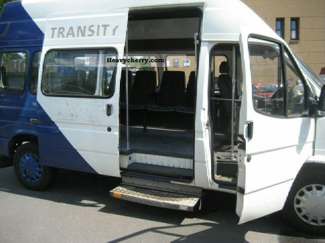 Ford Transit 9 Seats 7 Seats Minibus Long Standing 2000
