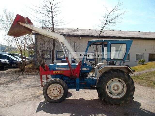 Ford 3000 Loader : Ford servo wheel loader km tires