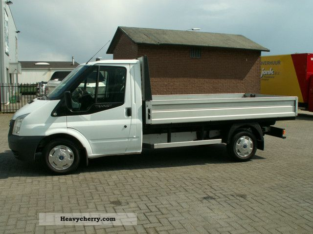 2006 Ford  Transit TDCi 300 M pritsche long climate Van or truck up to 7.5t Stake body photo