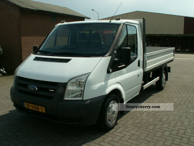 ford transit tdci 300 m pritsche long climate 2006 stake. Black Bedroom Furniture Sets. Home Design Ideas
