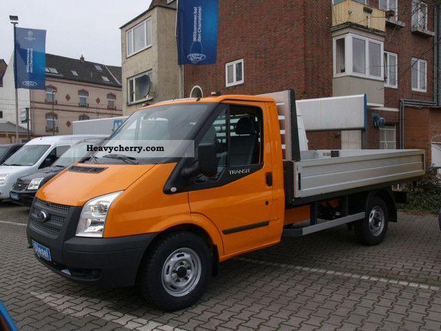 2012 Ford  Transit FT 350M * Flatbed / EK * AHK/Euro5 Van or truck up to 7.5t Stake body photo