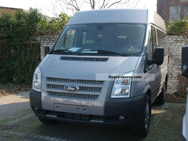 ford transit ft 330k 9 sitzer mittelhoch trend 2011. Black Bedroom Furniture Sets. Home Design Ideas