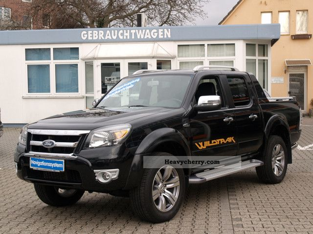 2010 Ford  Ranger Wildtrak * With tachograph + APC * Van or truck up to 7.5t Stake body photo