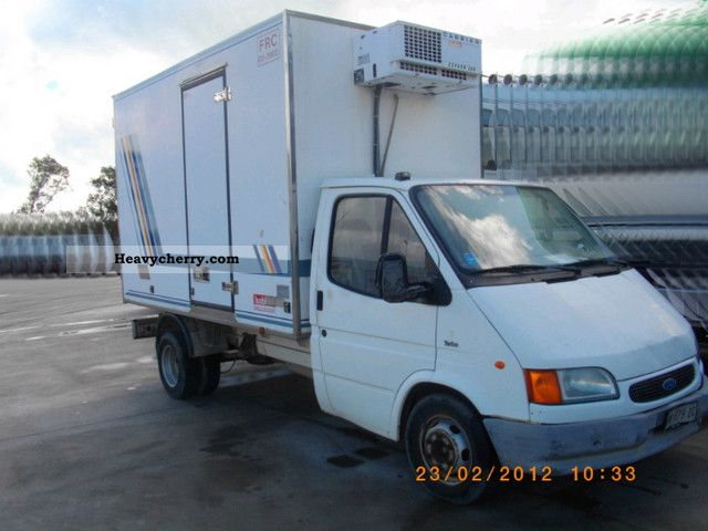 1997 Ford  Transit Van or truck up to 7.5t Refrigerator body photo