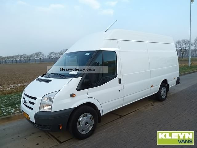 2010 Ford  Transit 350L 2.4TDDI Van or truck up to 7.5t Box-type delivery van photo