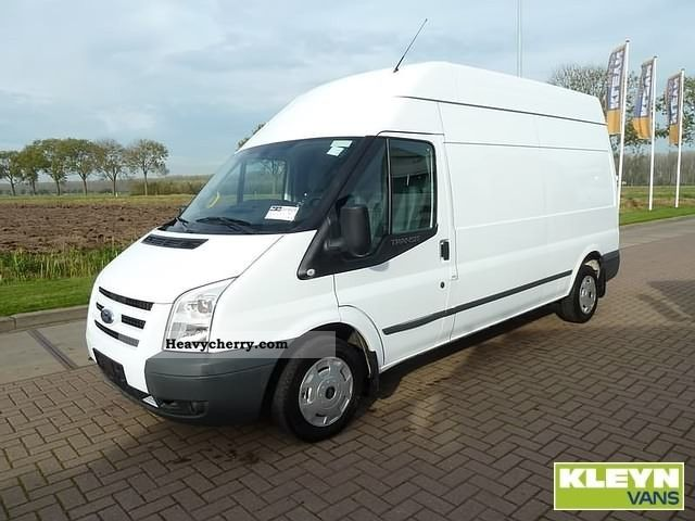 2010 Ford  Transit 2.2TDCi 300L Van or truck up to 7.5t Box-type delivery van photo