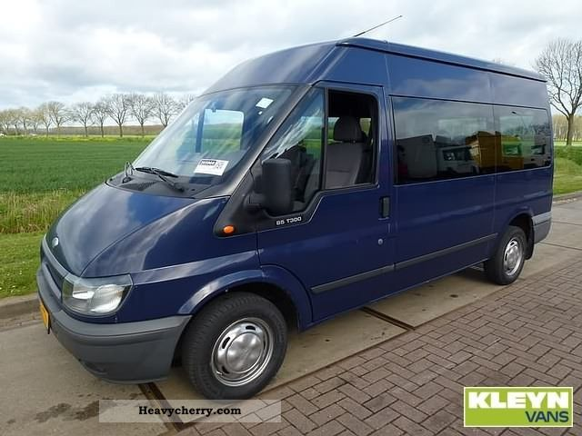 2003 Ford  Transit 300M COMBO Van or truck up to 7.5t Estate - minibus up to 9 seats photo