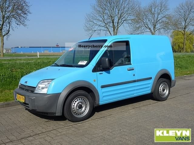 2006 Ford  Connect 200S 1.8TDCI Van or truck up to 7.5t Box-type delivery van photo