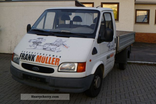 1999 Ford  Transit Van or truck up to 7.5t Stake body photo