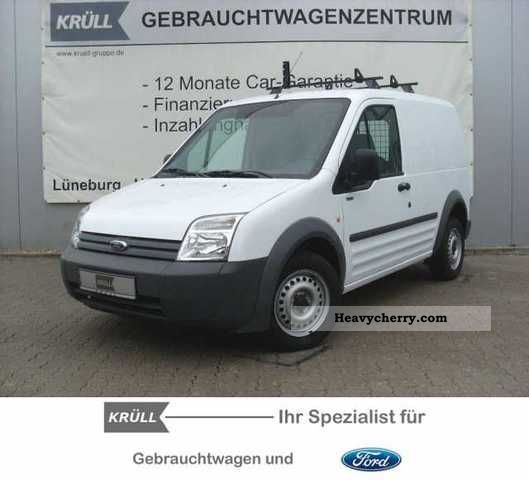 10 Ford Transit Connect 1 8tdci T200 Lwb: Ford Transit Connect T 200 (short) 2009 Box-type Delivery