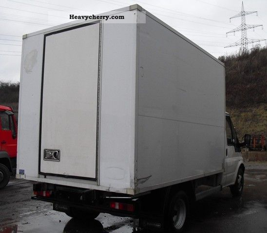 2012 Ford Transit Connect Refrigeration Mini Cargo Van: Ford Transit 115T350 Thermo King 2005 Refrigerator Body