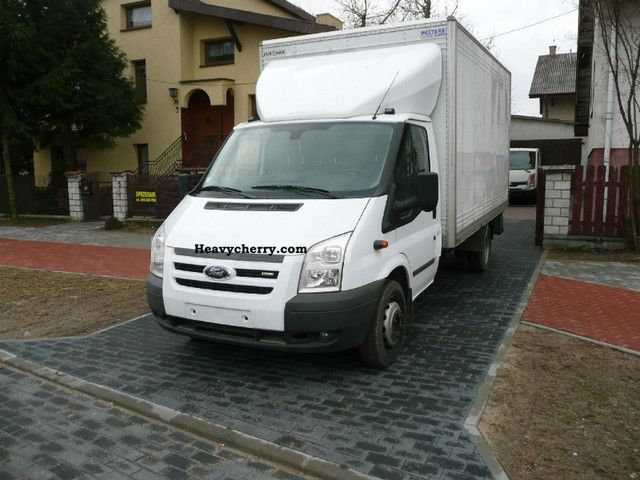 2008 Ford  Transit Van or truck up to 7.5t Stake body and tarpaulin photo