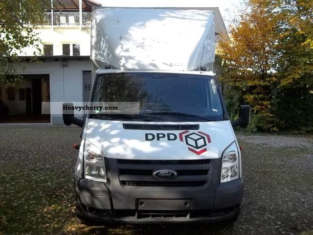 ford transit ft 350 el tdci truck based van body 2010 box. Black Bedroom Furniture Sets. Home Design Ideas