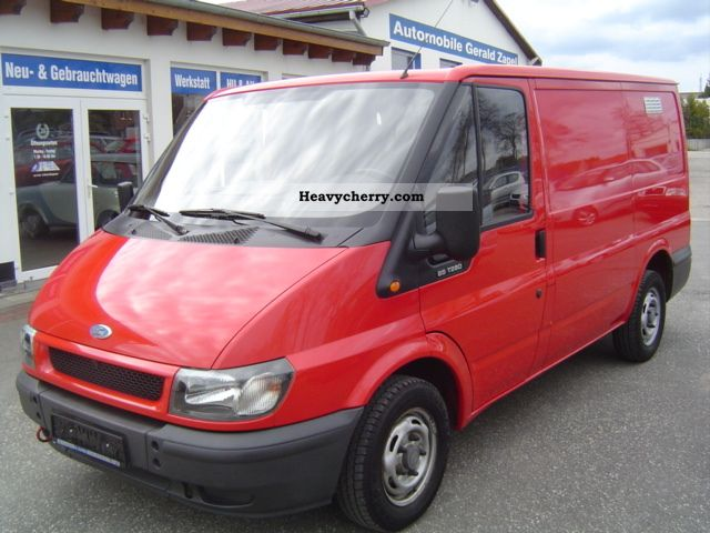2004 Ford  FT 280 K TDE * Truck registration / AHZ / 3 seats * Van or truck up to 7.5t Box-type delivery van photo