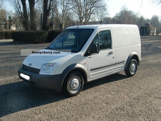 2003 Ford  Connect 1.Hand ... ... TÜV / AU 04/2013 ... Van or truck up to 7.5t Box-type delivery van photo