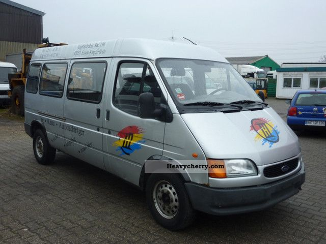 1999 Ford  Transit 2.5 TDI 74KW 15-inch tires Van or truck up to 7.5t Estate - minibus up to 9 seats photo