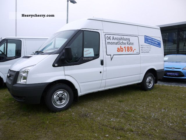 2011 Ford  FT 280 M TDCi \ Van or truck up to 7.5t Box-type delivery van photo