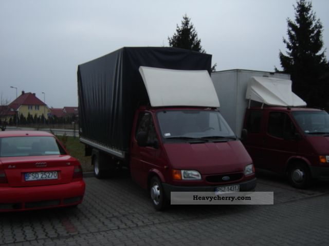 1998 Ford  Transit Van or truck up to 7.5t Box photo