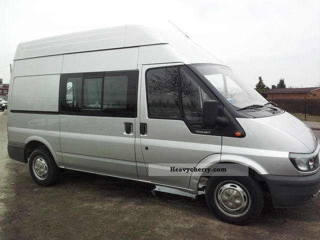 Ford Transit 2 0 Tde Ft300m High Roof Box 2001 Box Type