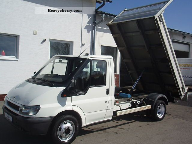 2004 Ford  350 MWB 2.4 TDI 90PS Tipper 3Plätze Van or truck up to 7.5t Tipper photo