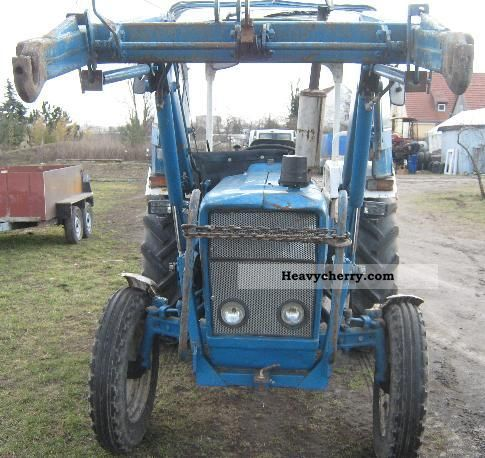 Ford 2000 1973 Agricultural Front End Loader Photo And Specs