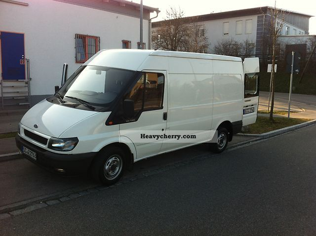 2004 Ford  transit Van or truck up to 7.5t Box-type delivery van - high photo