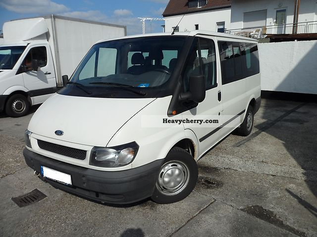 Ford Transit 100 T300 2003 Clubbus Photo and Specs